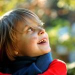 portrait enfant joie