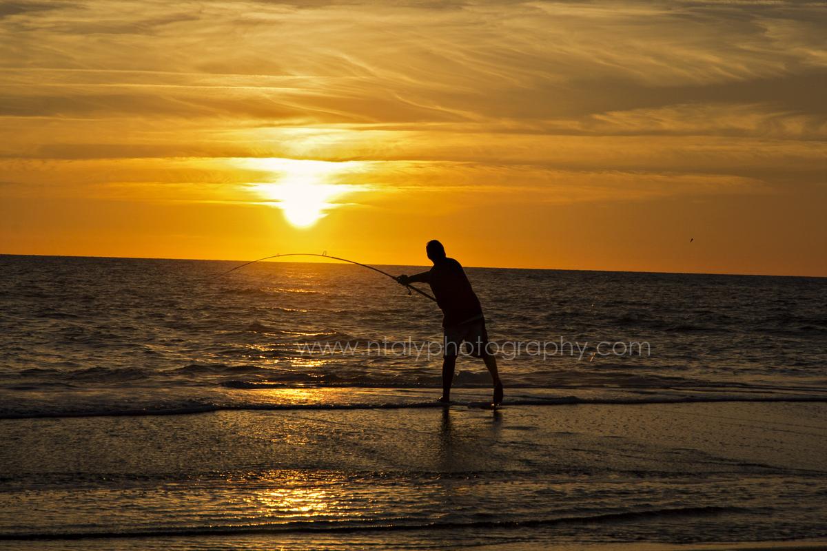 peche vacances sud ouest coucher de soleil