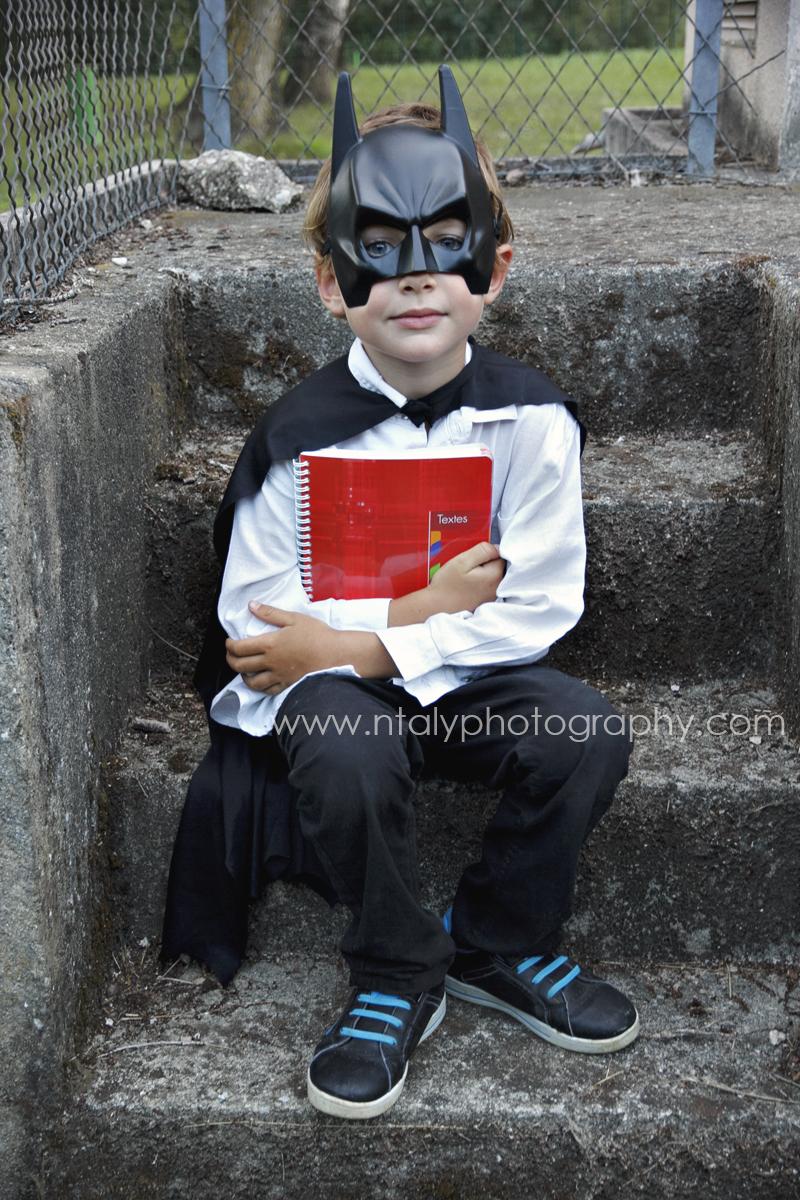 batman rentrée école primaire
