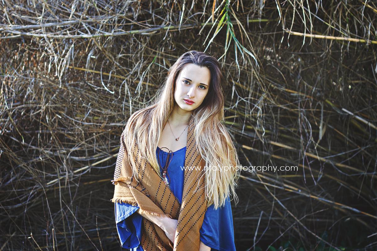 jeune femme robe