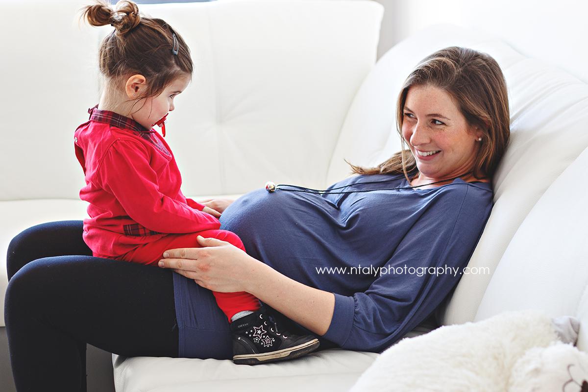 complicité mère fille séance famille