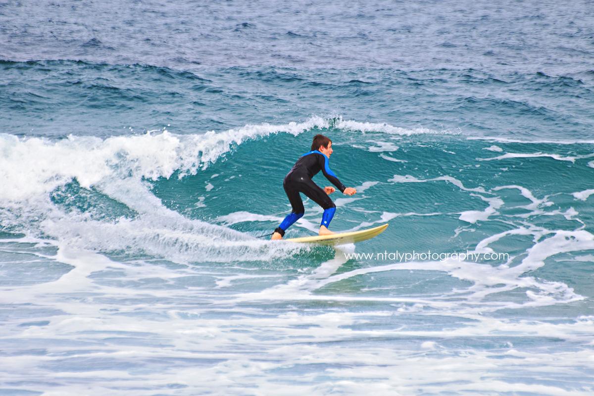 enfant surf corse