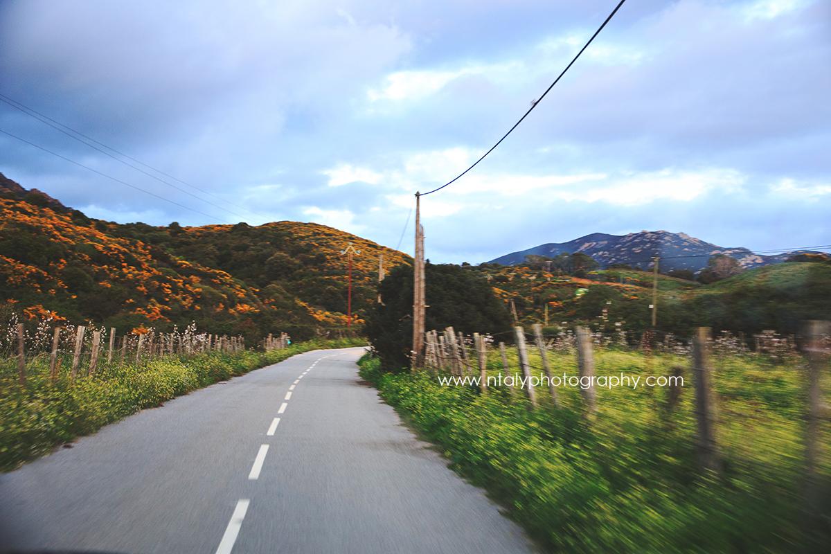 route corse montagne plage