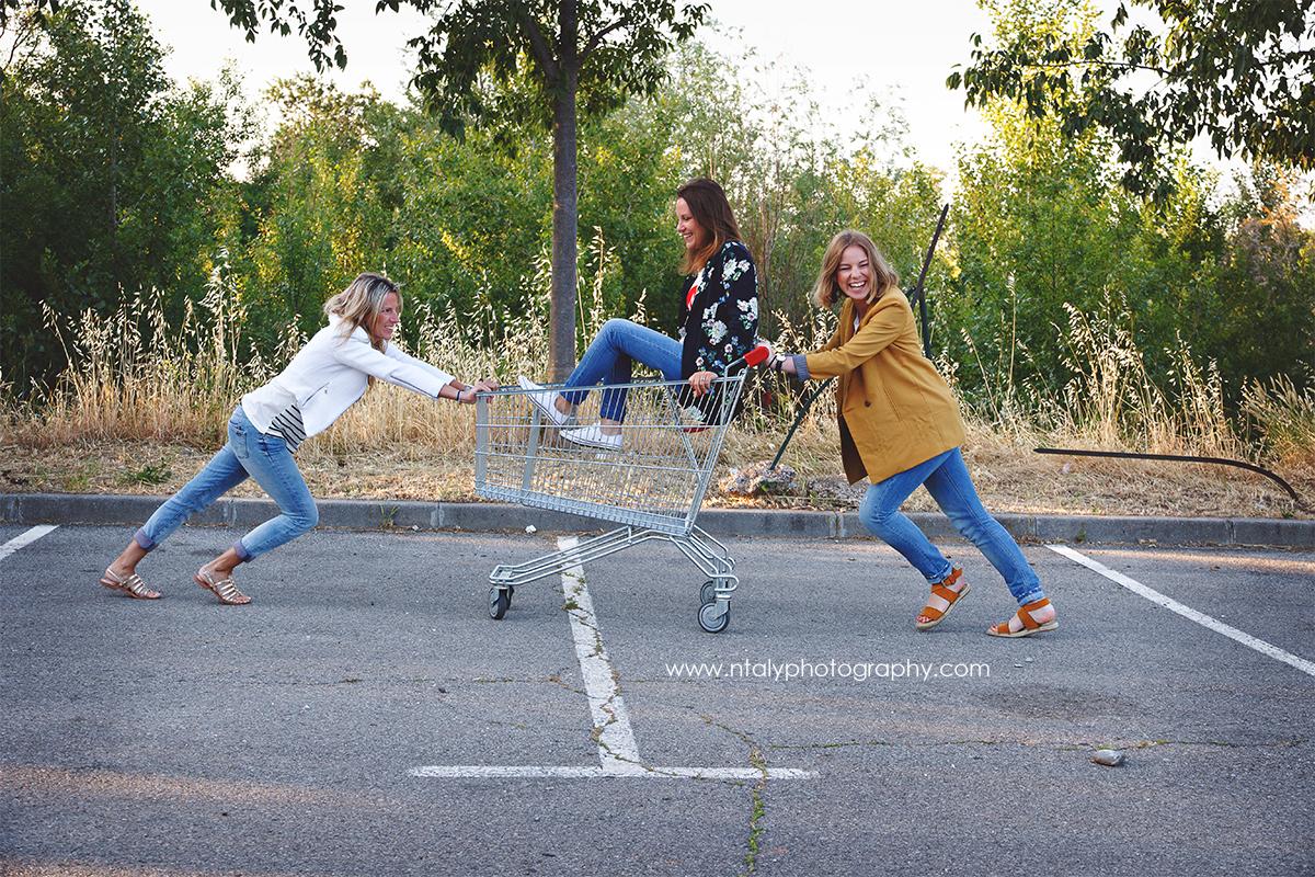 3 soeurs caddie fun evjf