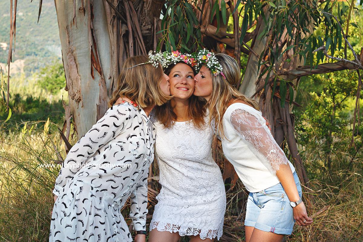 3 soeurs bisous