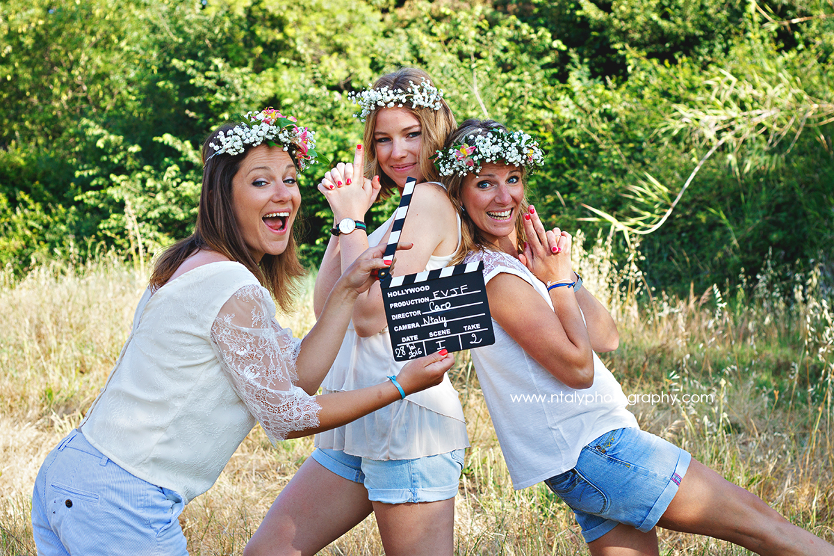 3 soeurs clap cinema evjf