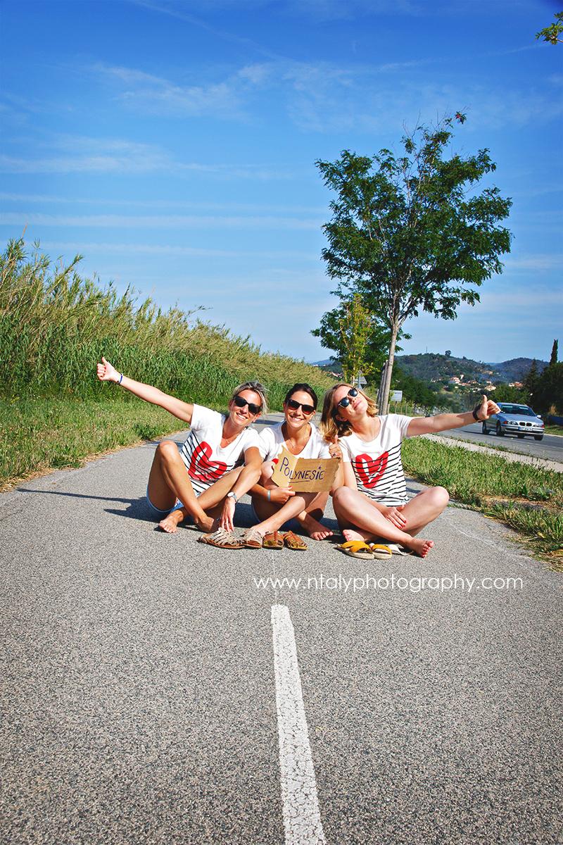 3 soeurs evjf autostop route