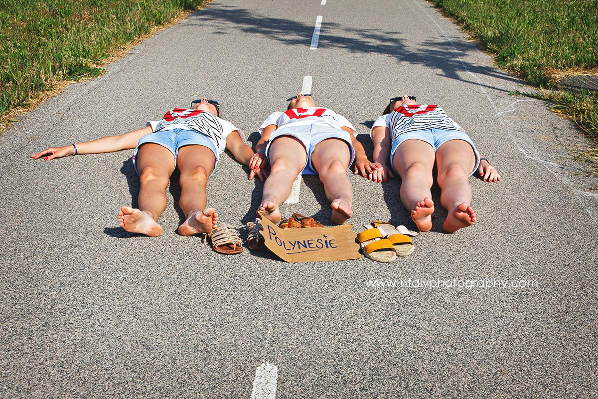 3 soeurs evjf autostop route polynésie voyage de noces