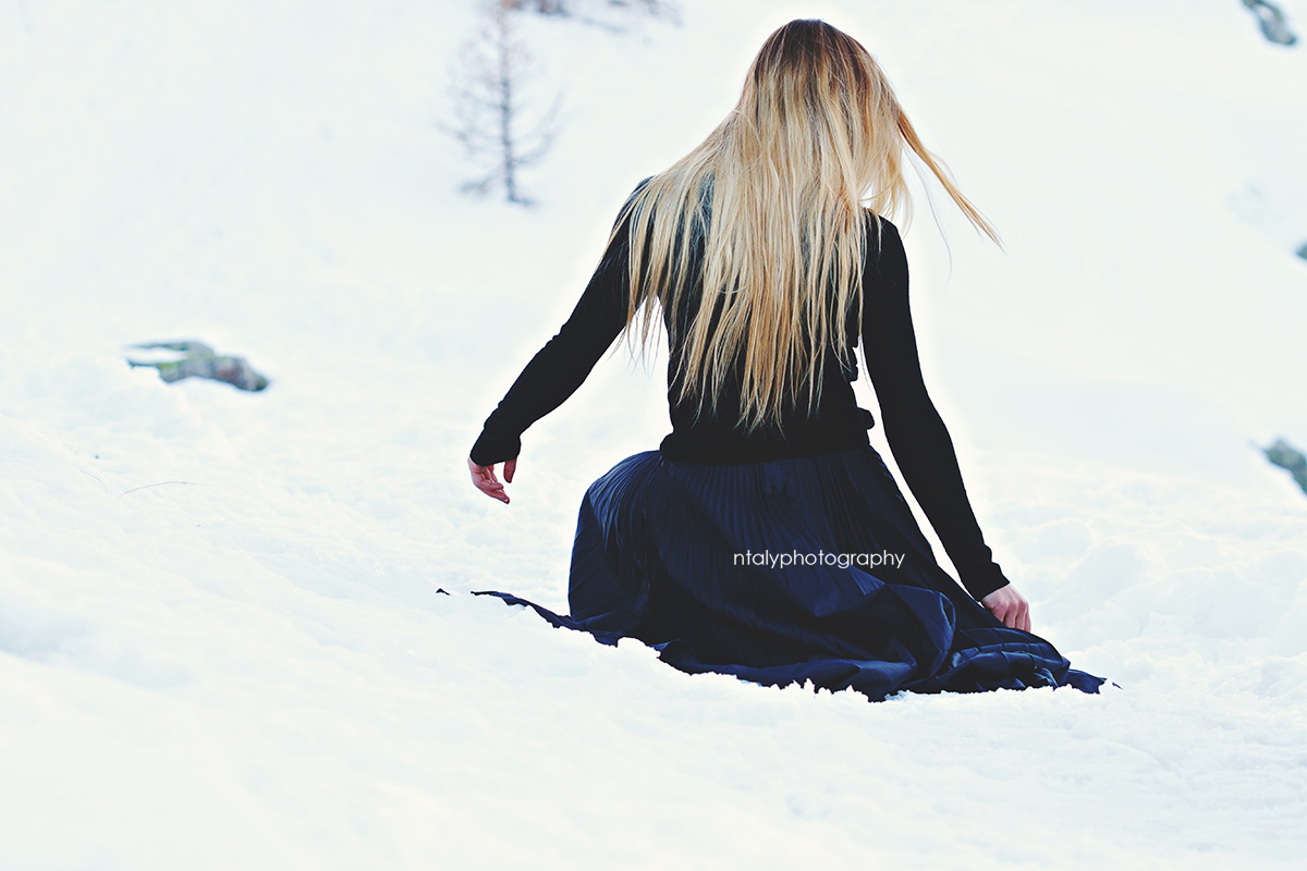 shooting photo montagne reine des neiges
