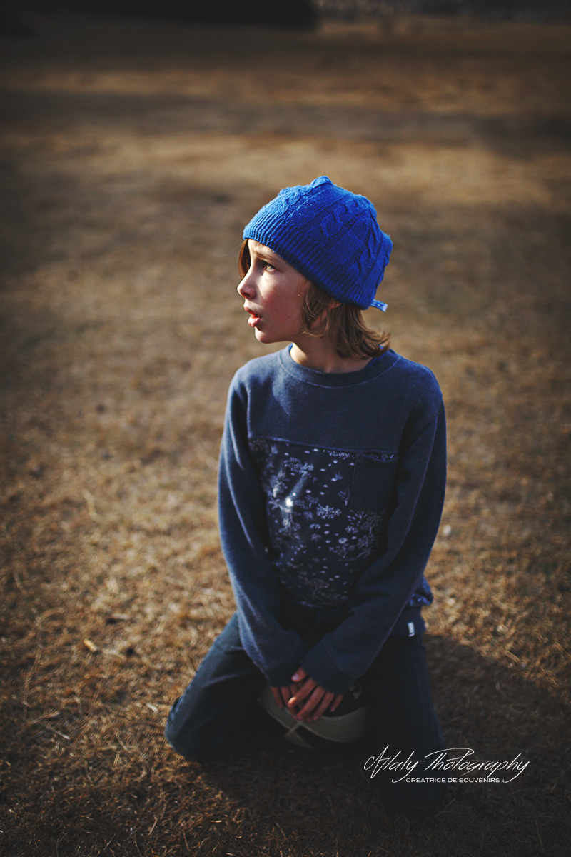 enfant bonnet