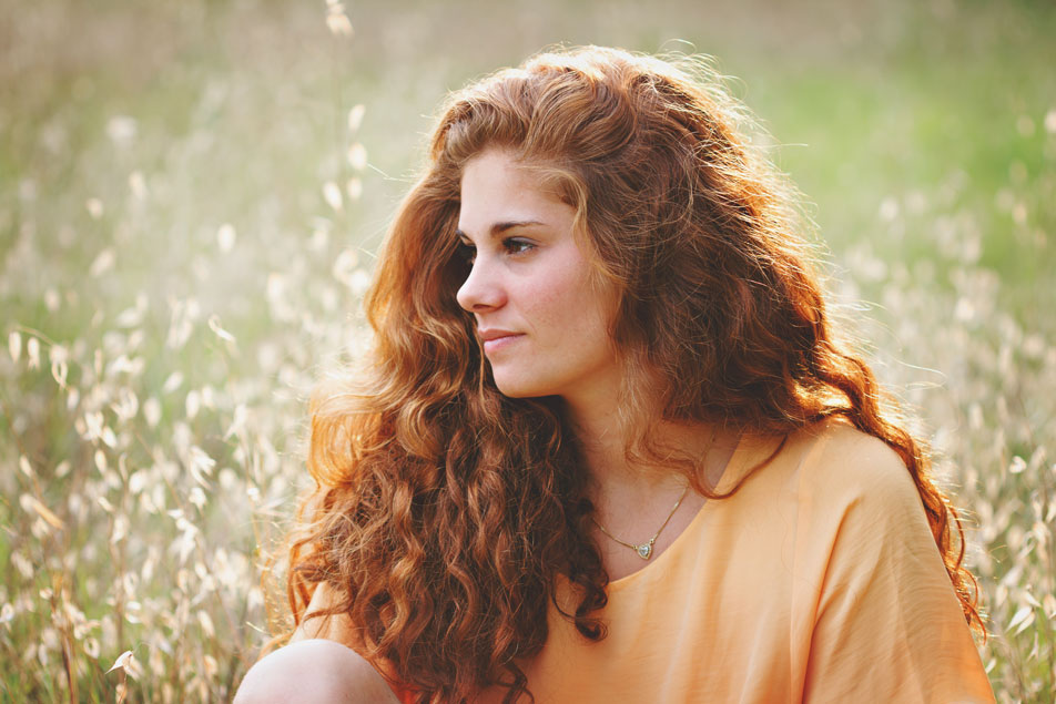 Séance portrait jeune femme