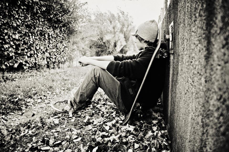noir et blanc photographie sport