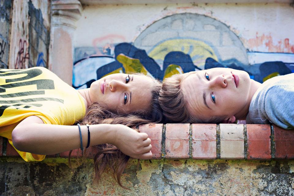 cousins photographie