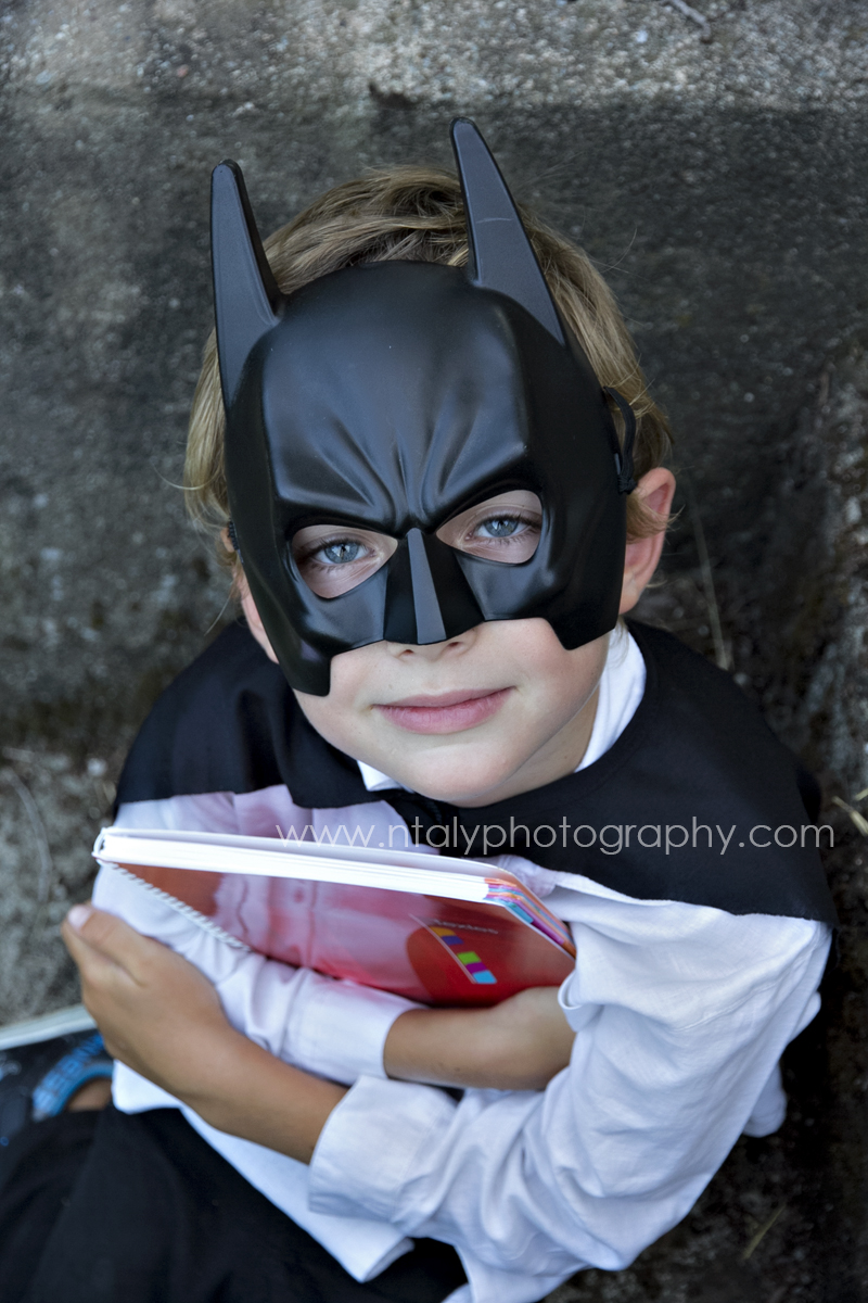 cahier enfant batman rentrée scolaire super hero