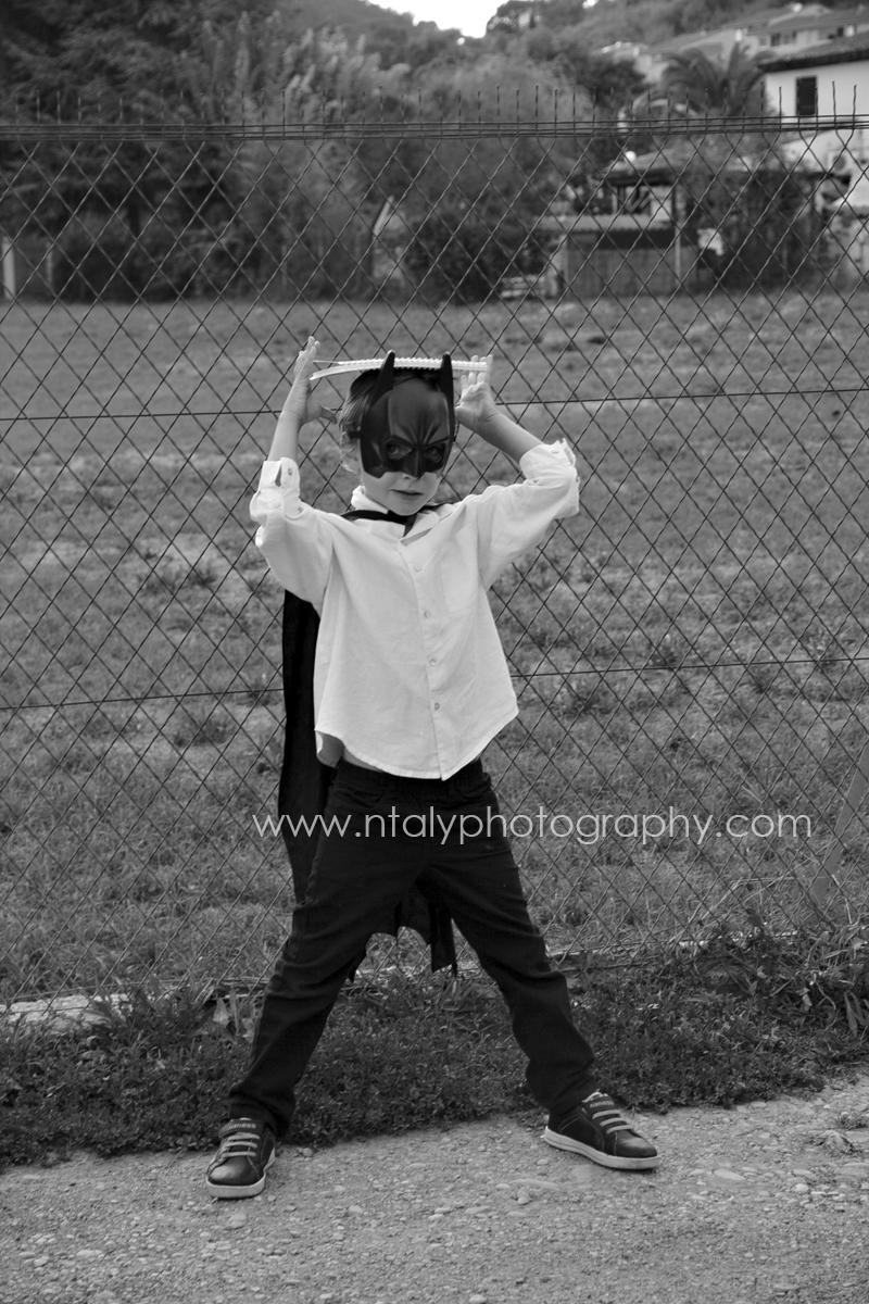 batman noir et blanc cahier école