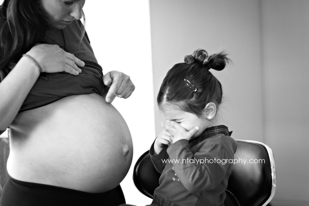 grande soeur future maman