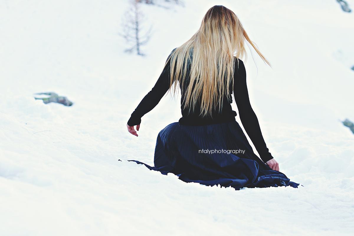 shooting photo montagne reine des neiges
