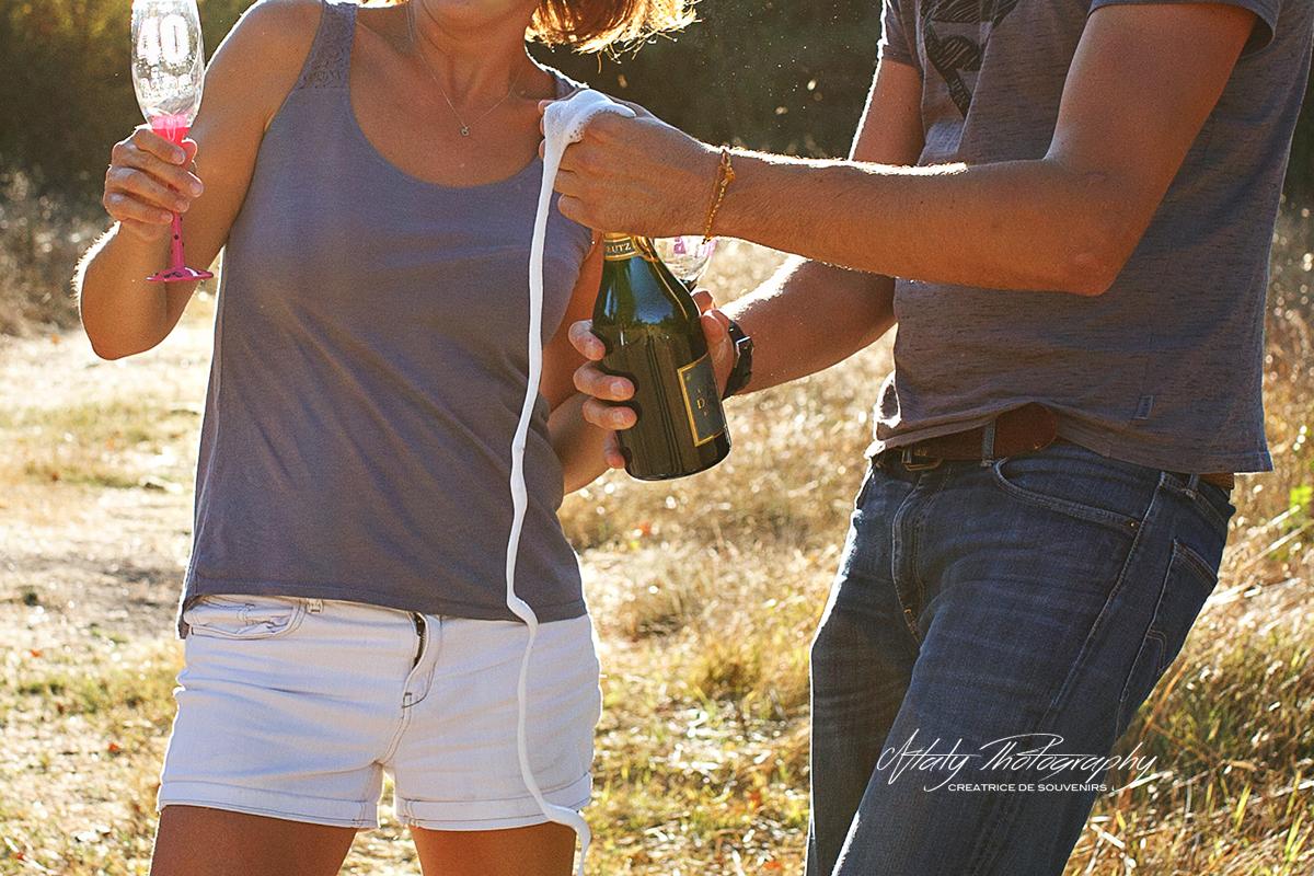 couple champagne